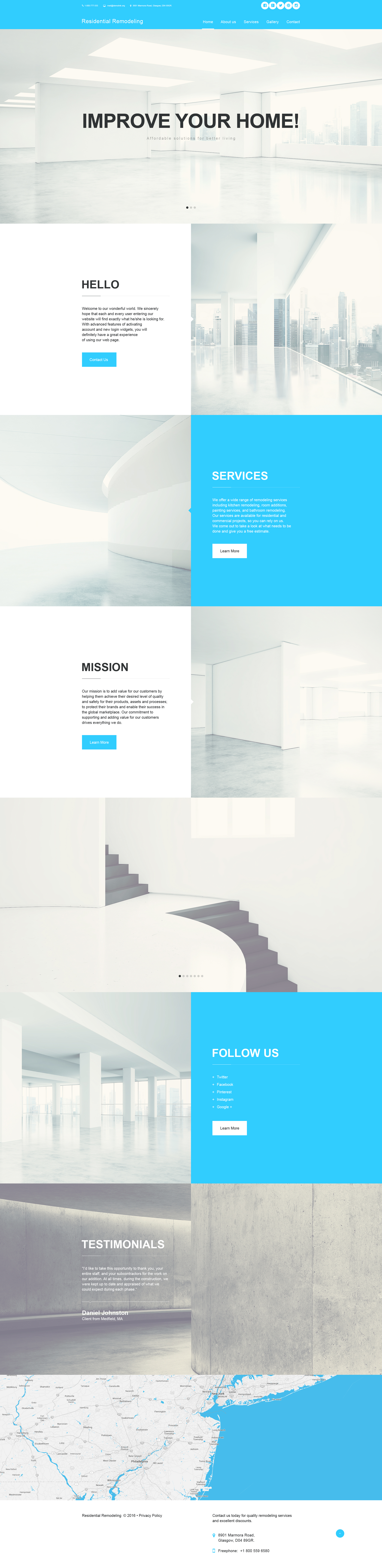 Home Remodeling Muse Template Home Design Software Renovation
