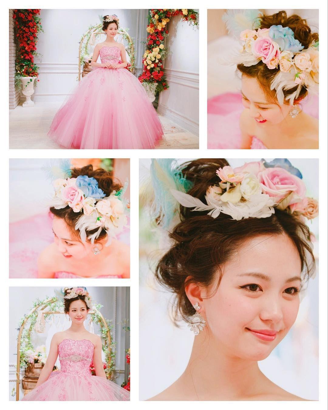 a8f2dc44dce0b 「花嫁 ヘアアレンジ ウェディング ヘアスタイル」おしゃれまとめの人気アイデア|Pinterest |silver moon