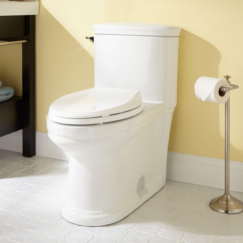 Dawid Siphonic Elongated One Piece Toilet Ada Compliant Ada