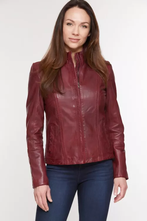 Women's Leather Jackets Overland in 2020 Leather