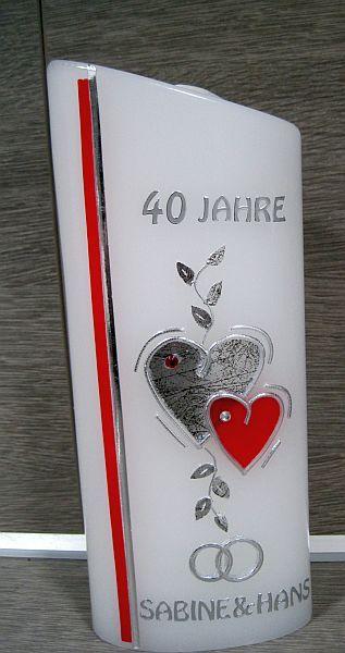 Geschenk zum 40sten hochzeitstag