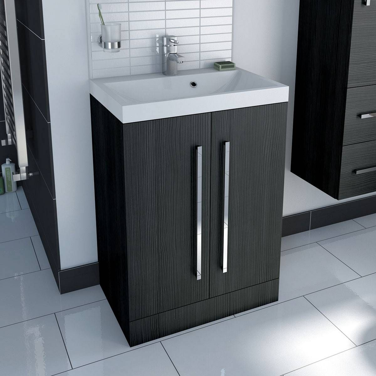 The Drift Grey Furniture Range Is A Superb Addition To Any Bathroom, With A  Contemporary