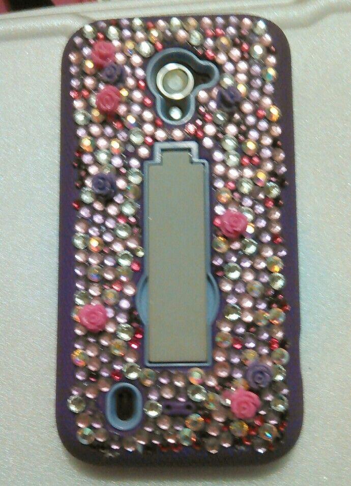 Purple phone case diy!