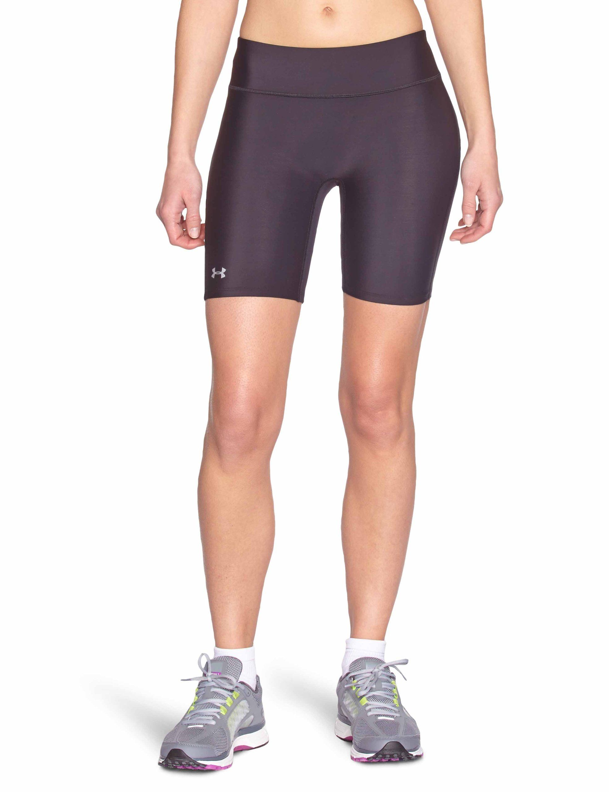 Quedar asombrado Guiño Pegajoso  Amazon.com: Under Armour Women's Authentic Long 7'' Compression Shorts:  Sports & Outdoors | Compression clothing, Stylish activewear, Under armour  women