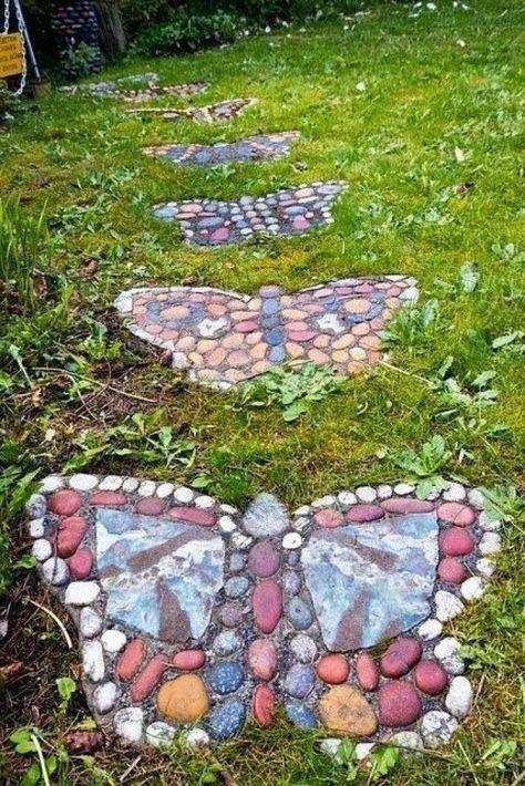 Garten Verschönern Mit Steinen 13 möglichkeiten, deinen garten mit steinen zu verschönern. die