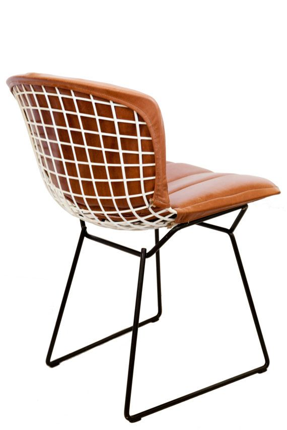 Superior Vintage Bertoia Chairs W/ Custom Leather Cushion. Notoriously Known For  Being Uncomfortable, The Bertoia Chair Has Been Responsible For Many