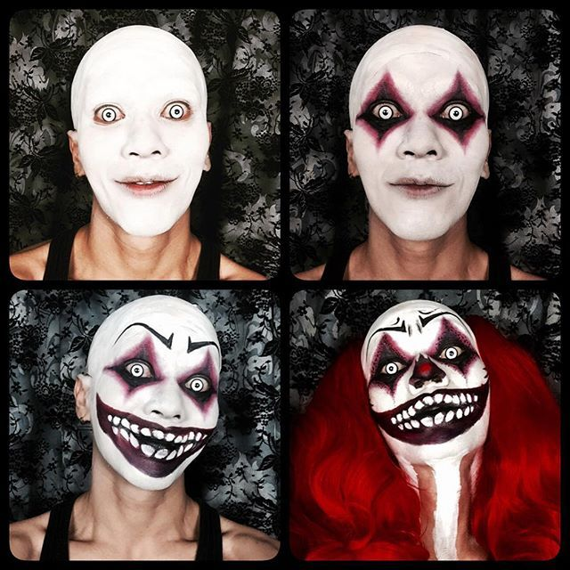 clown halloween creepy scary on Instagram
