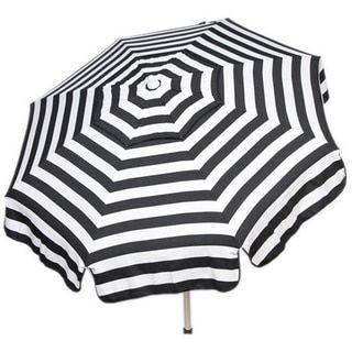 Italian Bistro 6 Foot Acrylic Striped Patio Umbrella | Overstock.com  Shopping   The Best Deals On Patio Umbrellas