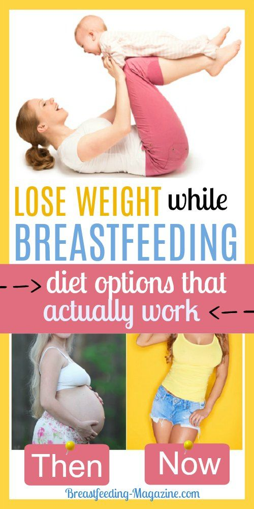 The Best Breastfeeding Diet Options for Losing Weight ...