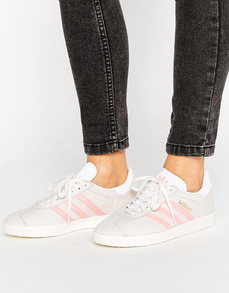 adidas gazelle rose gris
