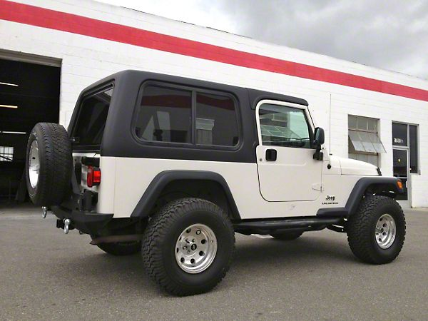 Jeep Wrangler Two Piece Hard Top For Full Doors 04 06 Jeep Wrangler Tj Unlimited Jeep Unlimited Jeep Wrangler Unlimited Jeep Wrangler