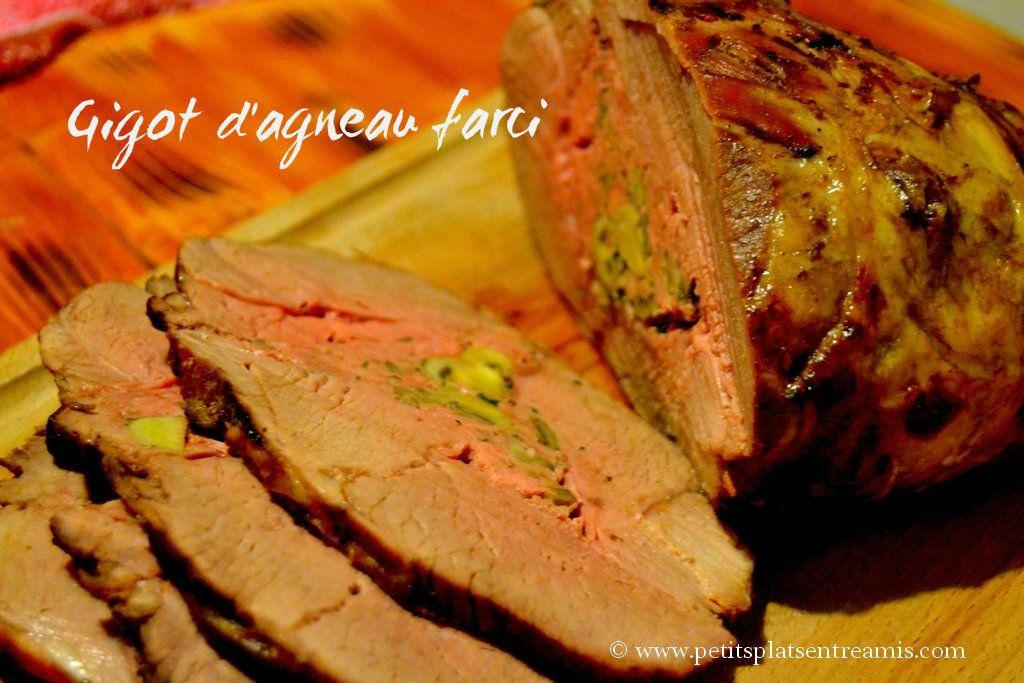 Gigot d agneau farci gigot agneau recettes de cuisine - Sauce pour gigot d agneau au four ...