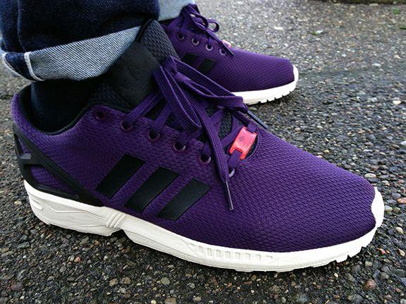 Adidas Zx Flux Purple