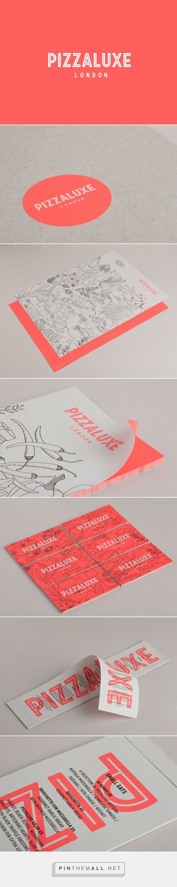 New Brand Identity for PizzaLuxe by Touch