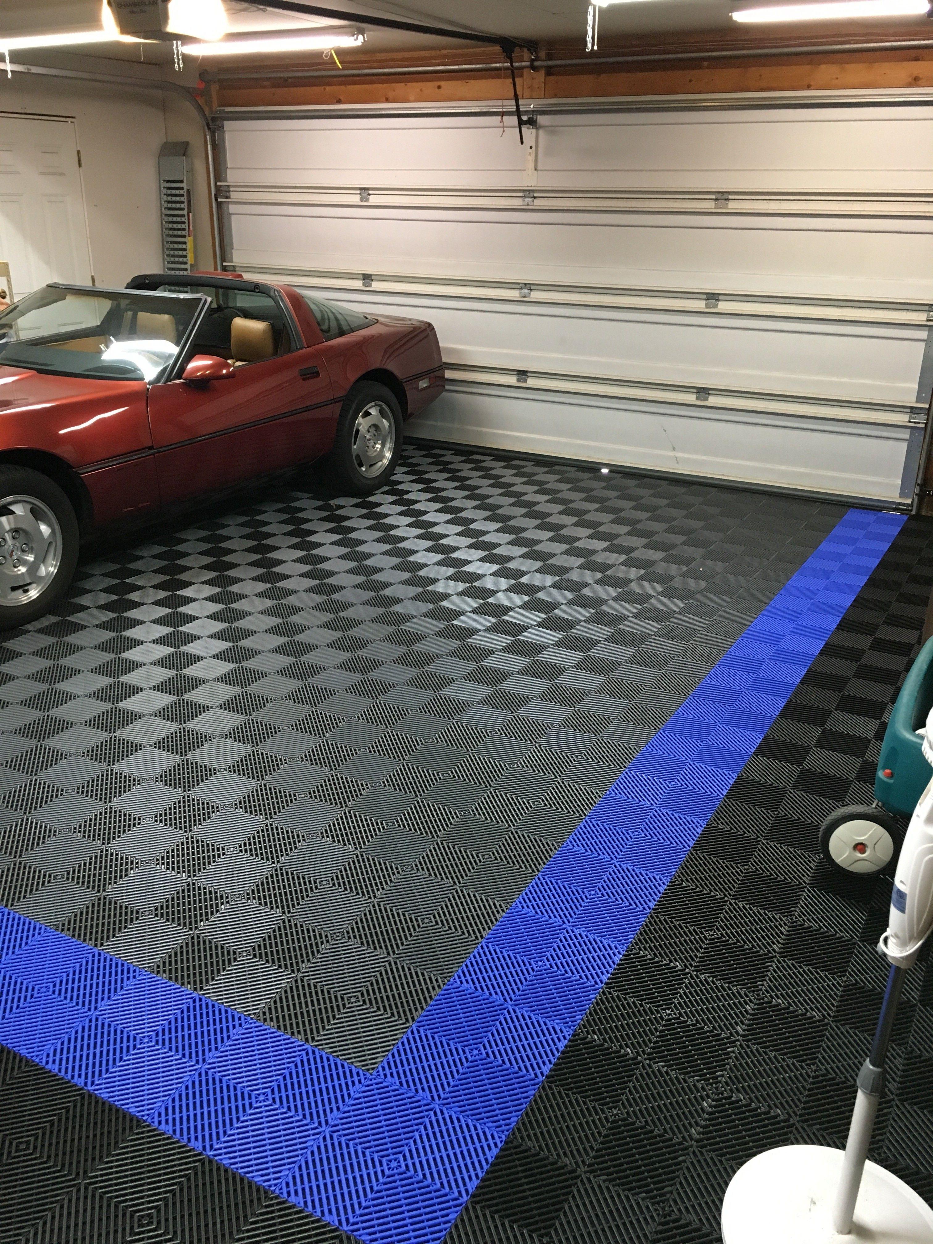 Garage Floor Tiles American Made Truelock Hd Racedeck Tile Garage Tile Garage Floor Tiles Garage Floor