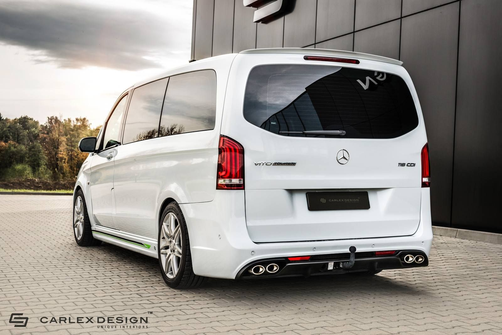 Carlex Will Make Your Mercedes Vito Look Fast Furious Mpv