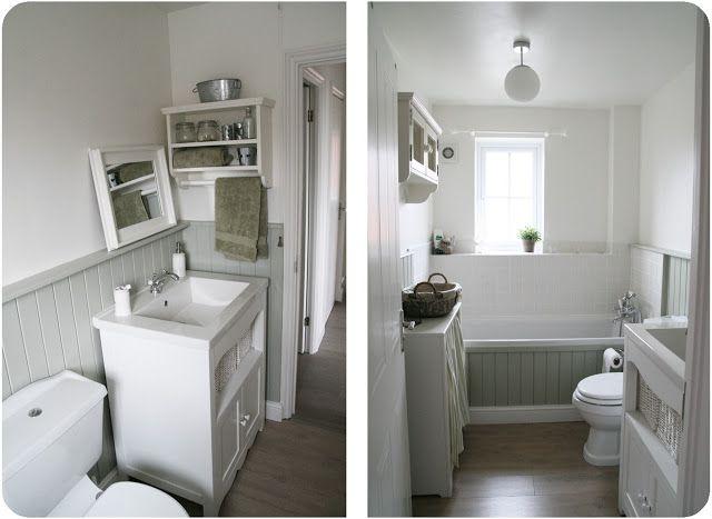 Shabby chic interiors progettare due bagni love for shabby