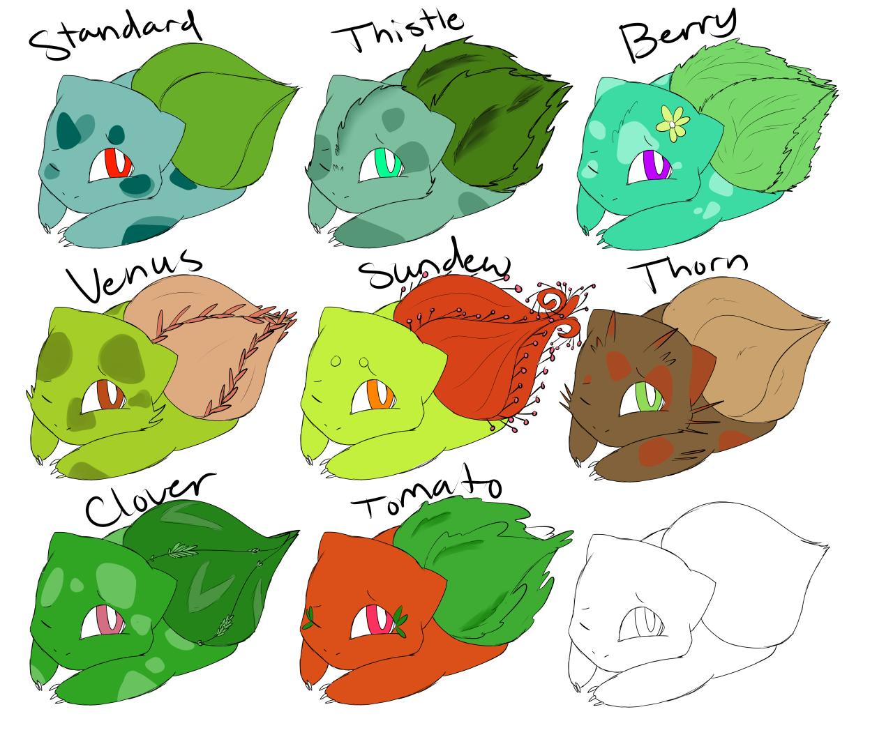 Pokemon-variations