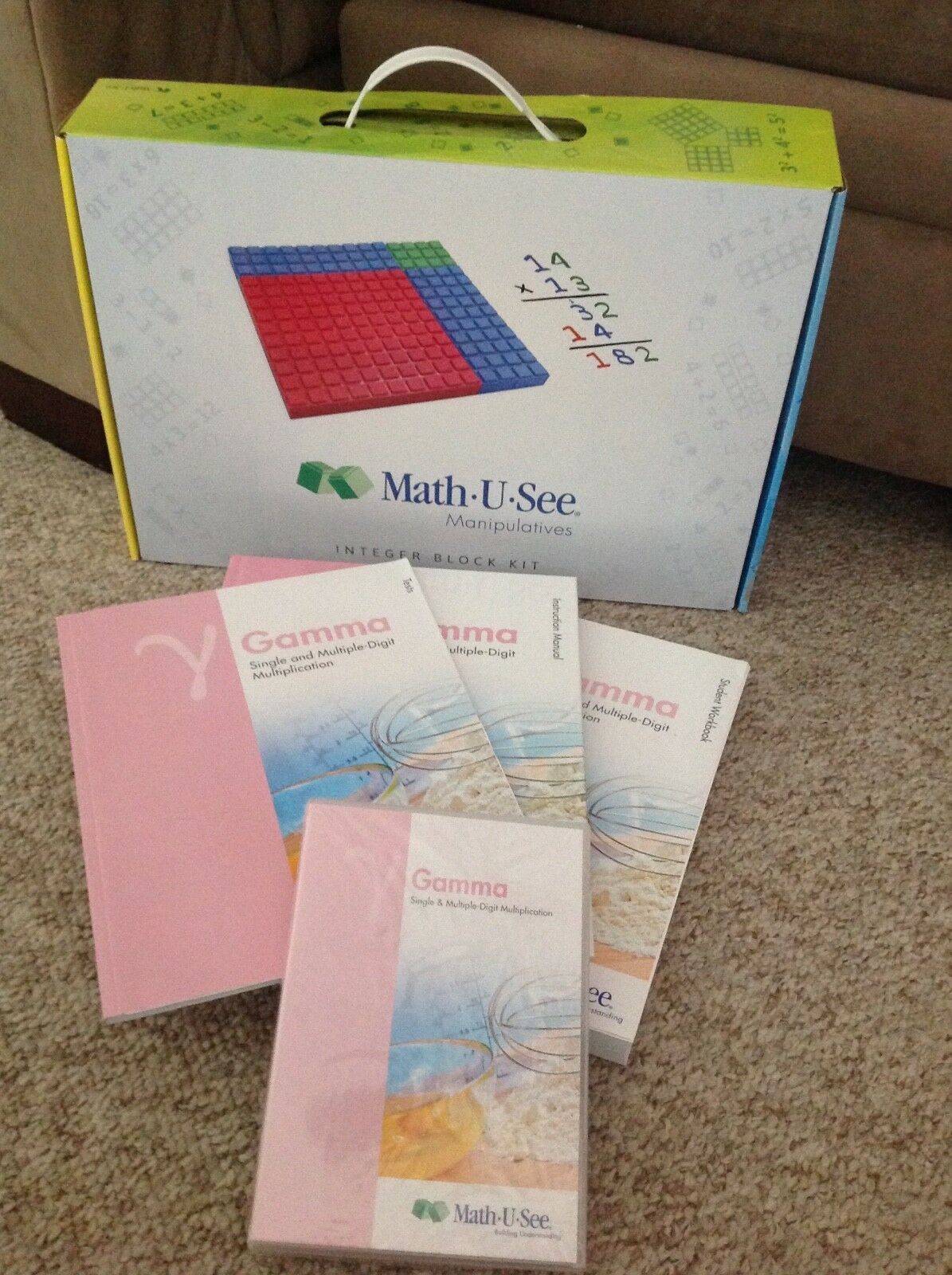 Math U See Gamma Complete Nib Bundle Math U See Math Things To Sell [ 1600 x 1195 Pixel ]