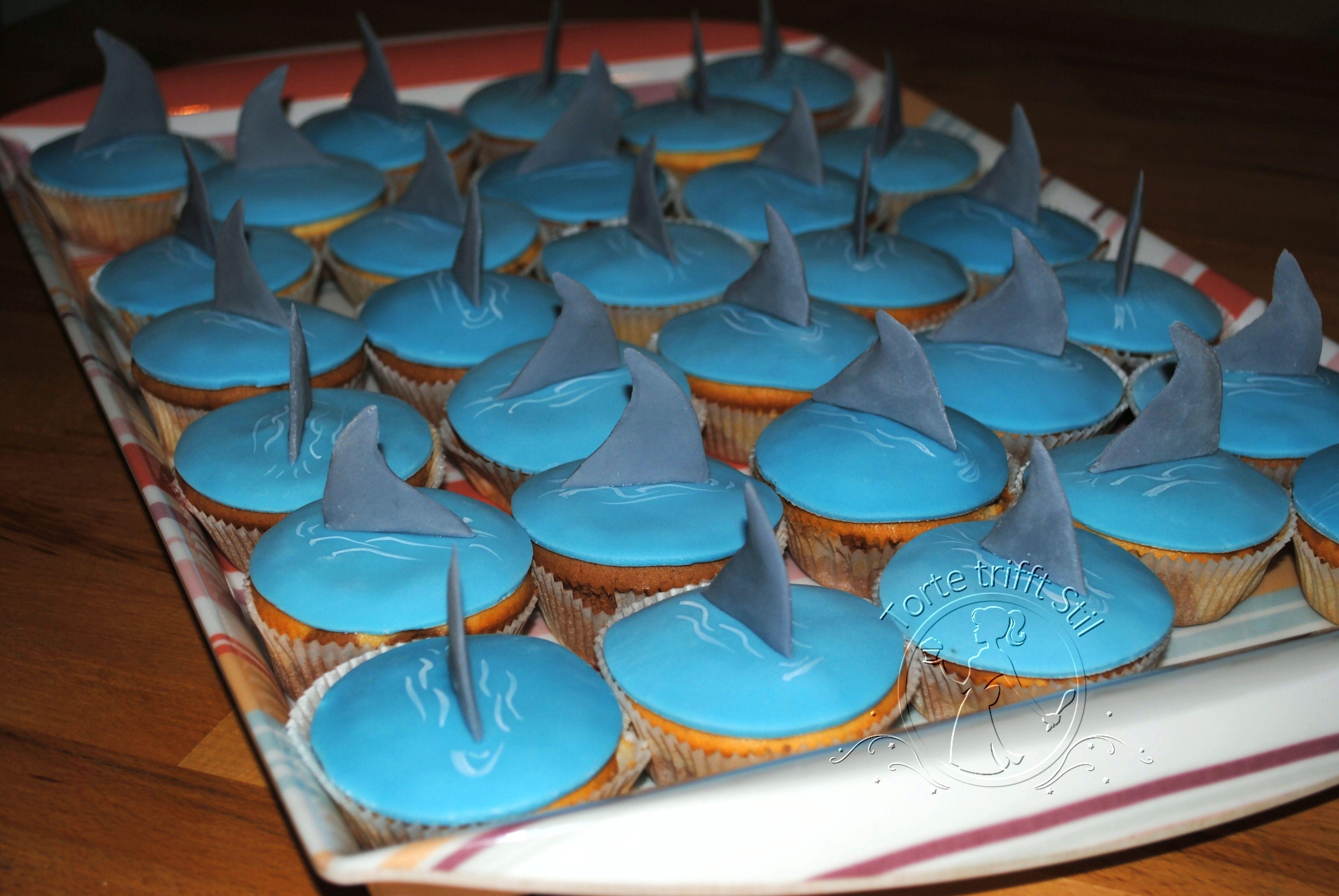 Ozean stil zimmer hai muffins  torte trifft stil  eliaz zimmer  pinterest