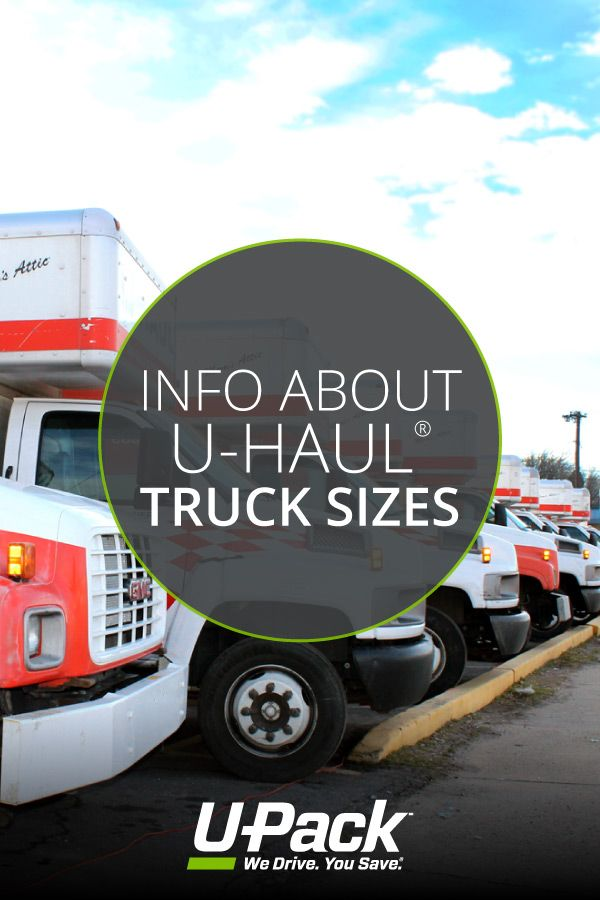 Find Out The Dimensions For Each U Haul Truck Size In This Post With Images U Haul Truck Uhaul Trucks