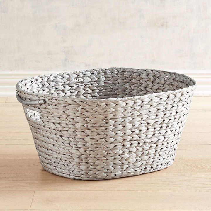 Carson Metallic Laundry Basket In 2019 Products Laundry