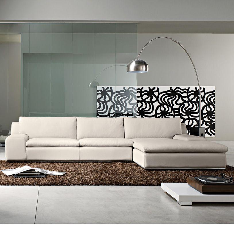 Geneva Corner Sofa In Amianto Leather Cream Leather Corner Sofa Corner Sofa Corner Sofa Modern
