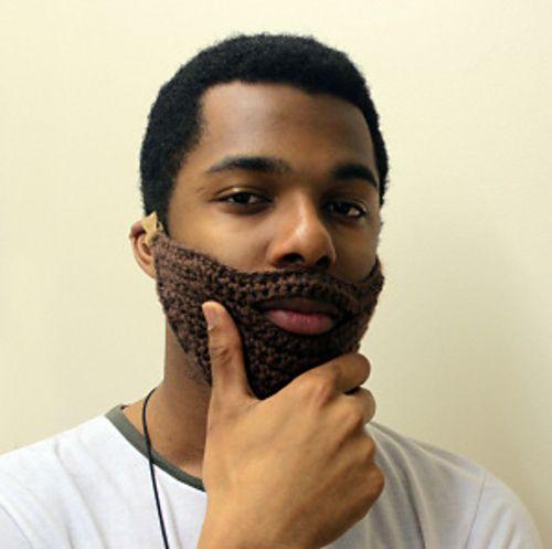 Ravelry: Crochet Beard #L20609 pattern by Lion Brand Yarn | Crochet ...