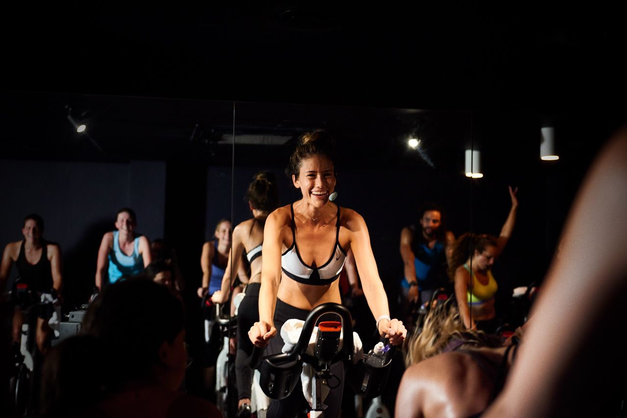 Boom cycle spin class