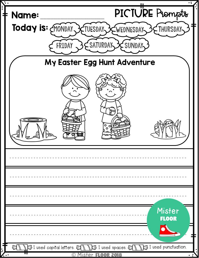 Kindergarten Writing Prompts Opinion Writing Picture Prompts April Kindergarten Writing Prompts Kindergarten Writing Writing Pictures