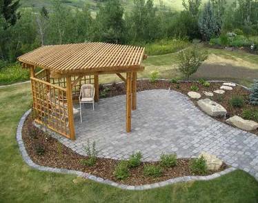 Hexagon Pergola Backyard Ideas In 2019 Pinterest Pergola