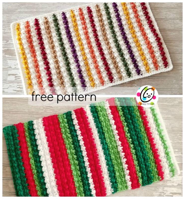 Free Pattern Jellybean Place Mat Crochet Coasters Free Pattern Crochet Coasters Free Crochet Pattern