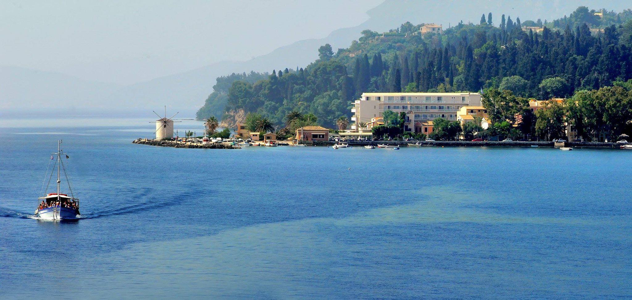 "Wonderful #GaritsasGulf comprises the natural hosting venue for #MonReposPalace. The landscape for so-called ""City Hotel' is phenomenal! #MayorMonReposPalace #Corfu"