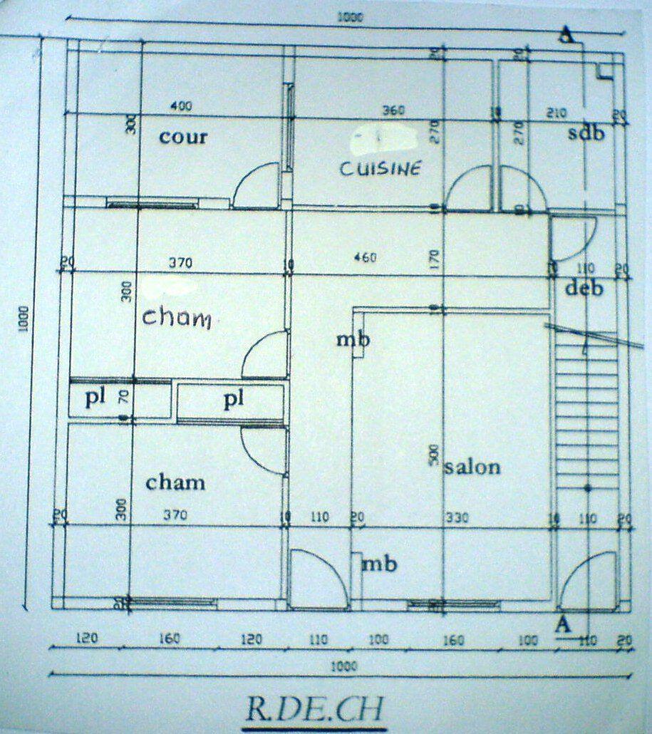 Plan Maison Marocaine 100m2 Plan Maison Plan De Maison Gratuit Plan Maison 100m2
