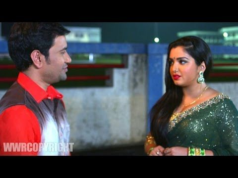 Dinesh Lal Yadav Proposing Amrapali Dubey - Latest Bhojpuri Video