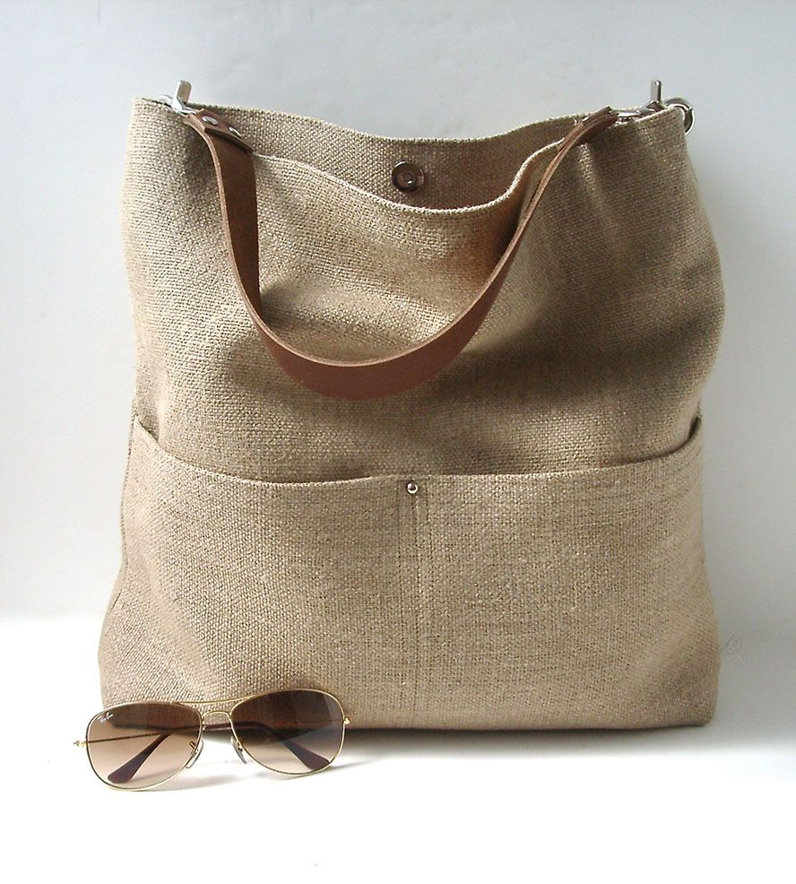 Linen Beach Tote | INACTIVE BAGS & WALLETS | Independent Reign ...