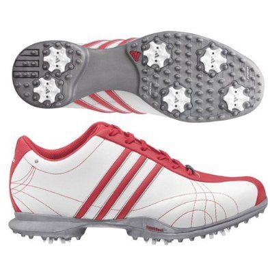 adidas Signature Natalie Golf Shoe (Black/White/Hot)