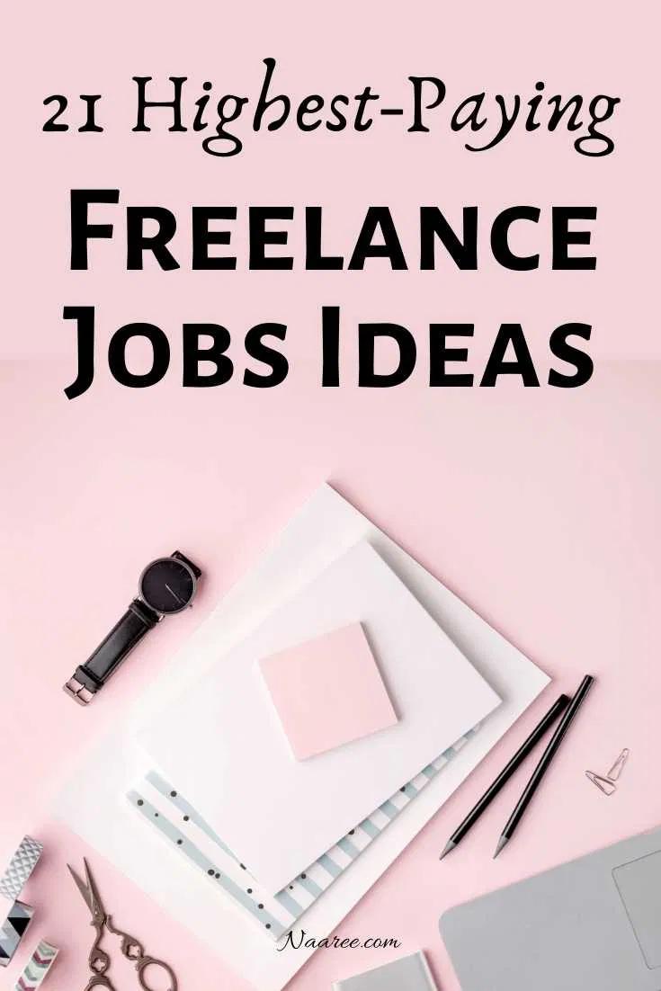 21 Highest Paying Freelance Jobs From Home Freelancing Jobs Freelance Marketing Job Career
