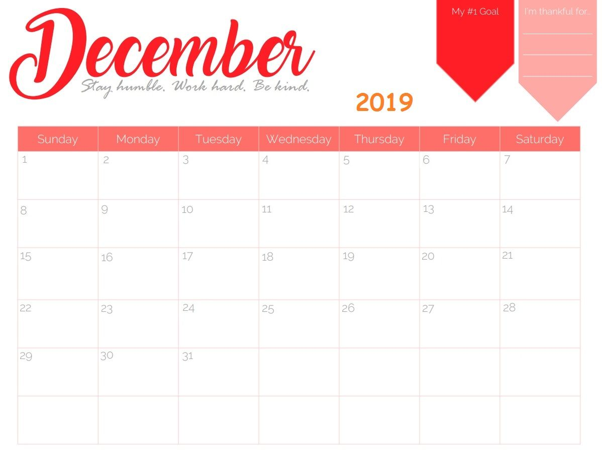 photograph regarding Calendar December Printable identify Totally free Printable December 2019 Calendar Calendar 2018 inside