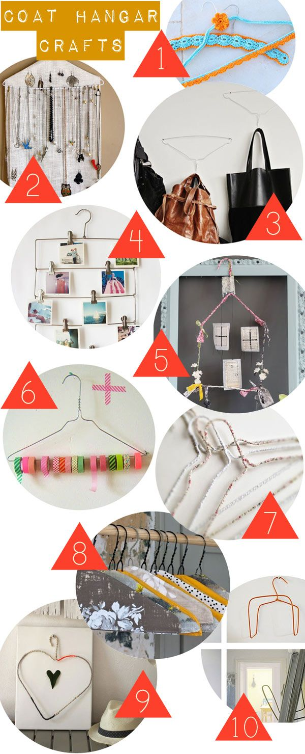 Zuhause in Germany: Coat Hanger Craft Round-Up   Try   Pinterest ...