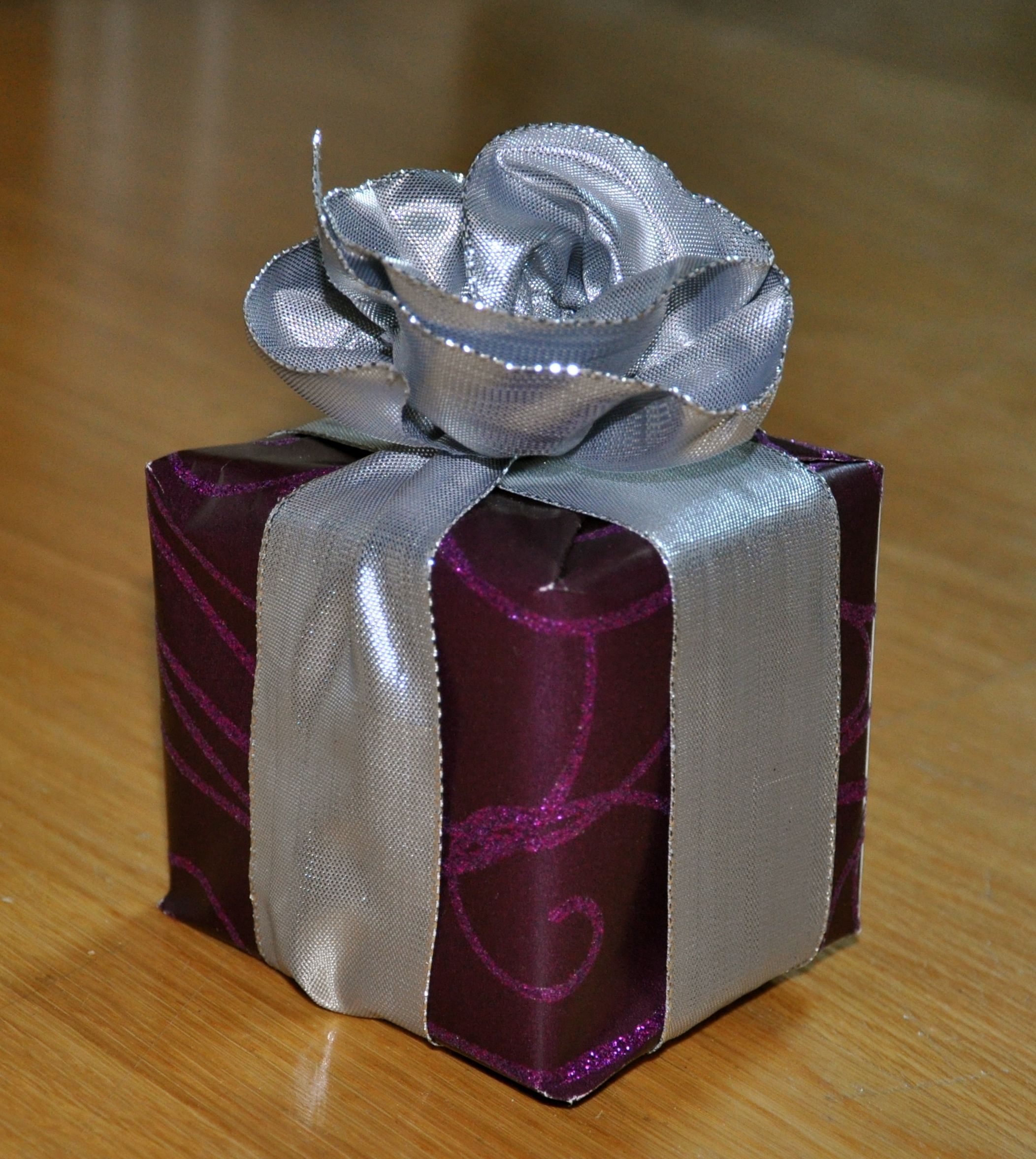 My own creation of a silver rose