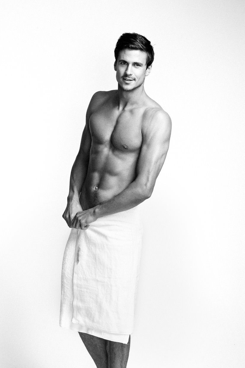 Man in a Towel