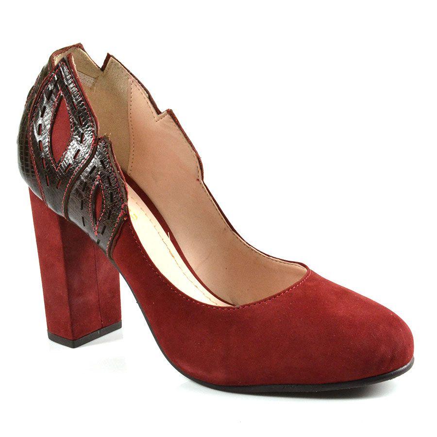 dc2428c96 Scarpin Claudina - Vermelho | Inverno Oscar 2014 - Saltos | Shoes ...