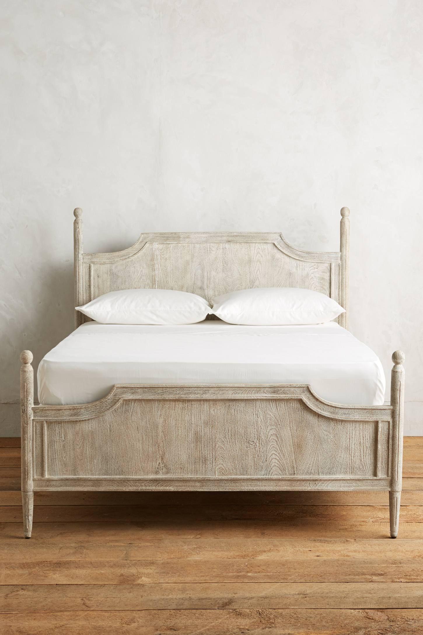 Washed Wood Bed Washed Wood Bed Bed Frame Design Wood Beds