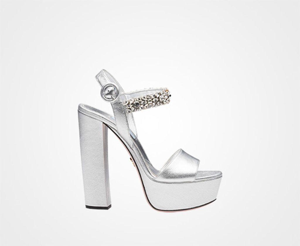 diversamente 32244 60b83 Che gioiellino i sandali argento: 10 modelli pazzeschi (e ...