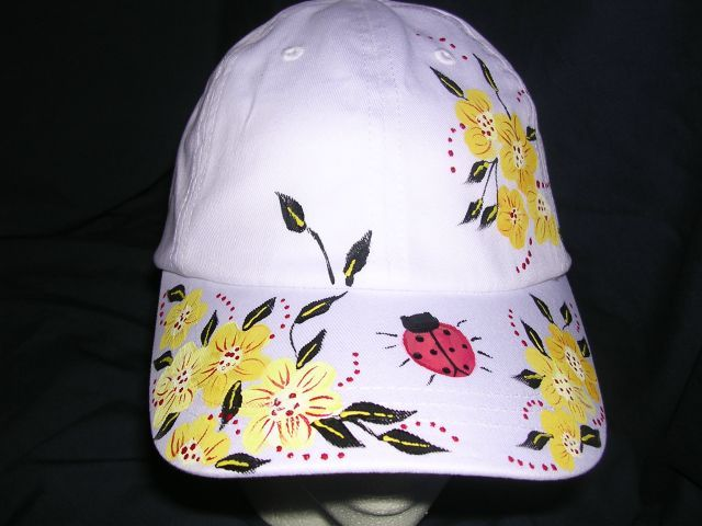 Hand Painted Designs By Martee Handpainted Ball Caps Painted Hats Painted Shoes Diy Floral Vans