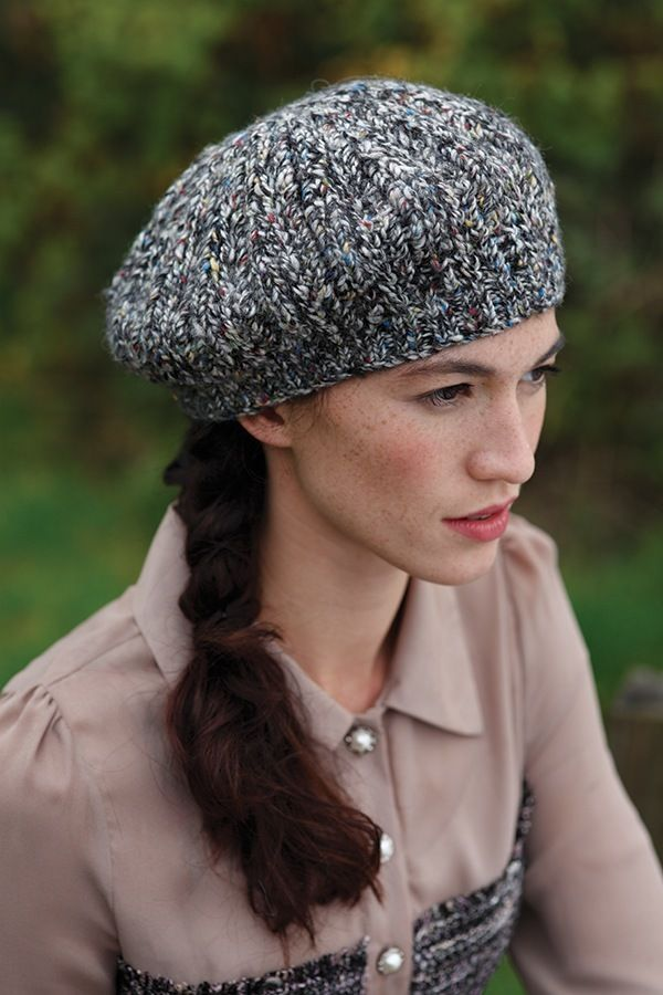 Free Beret Knitting Pattern Headts Up Pinterest Berets