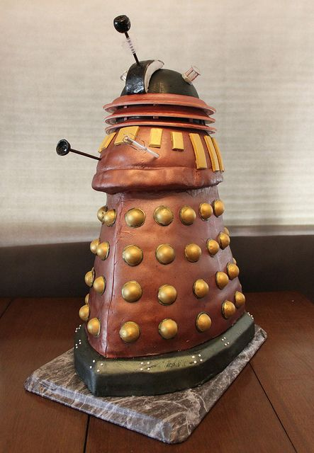 Doctor Who Dalek cake Cake Dalek cake and Dalek