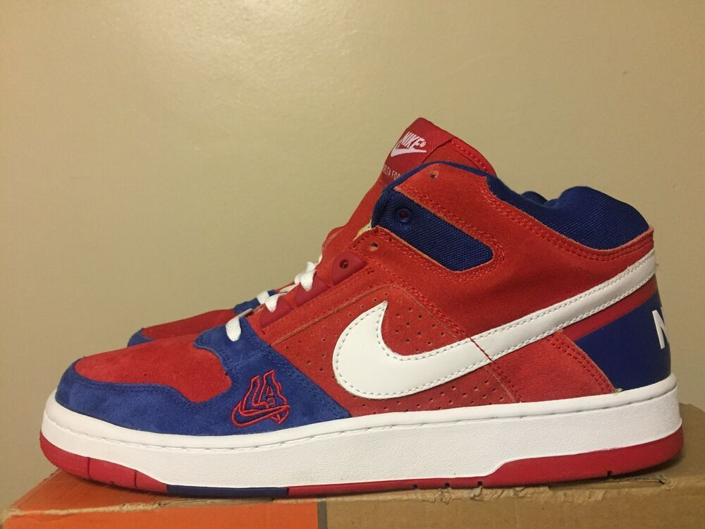 Vintage Nike Air Delta Force High Top Basketball Shoes 10