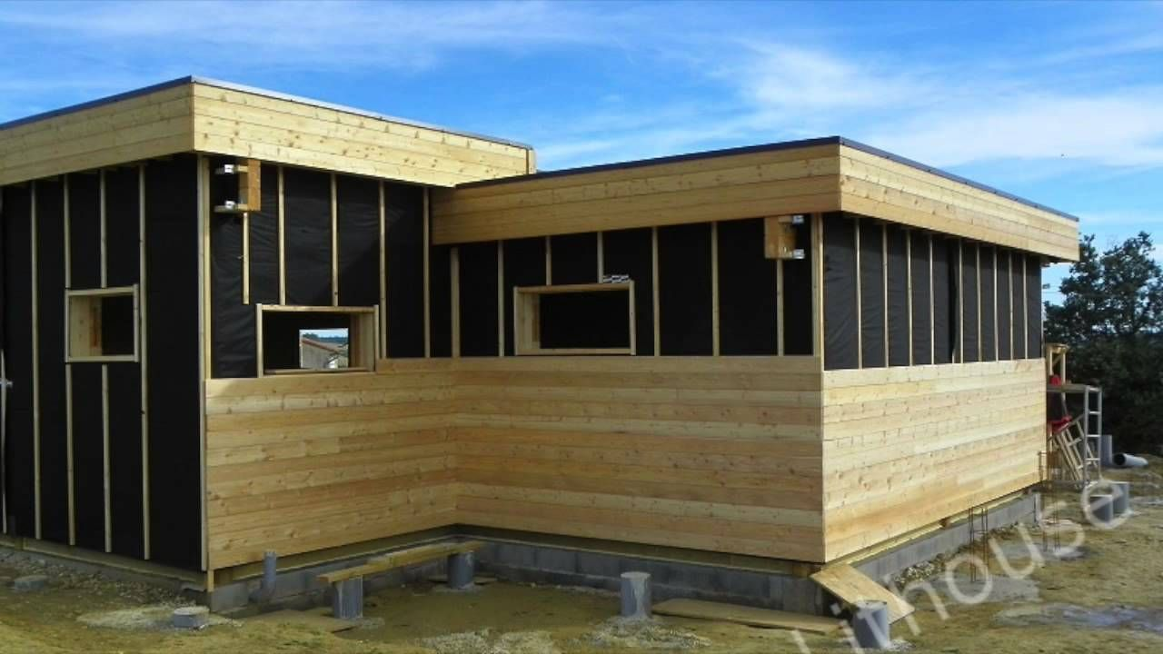 Pascal Wooden House Construction In France Home Construction Wooden House House In The Woods